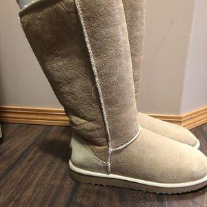 Paisley Tall Ugg Boots